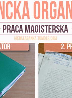 Studencie zorganizuj się: jak uporządkować materiały do pracy magisterskiej