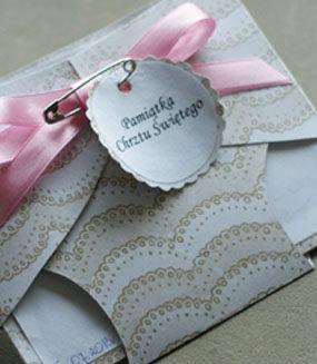 Scrapbooking: Kartka w kształcie pampersa