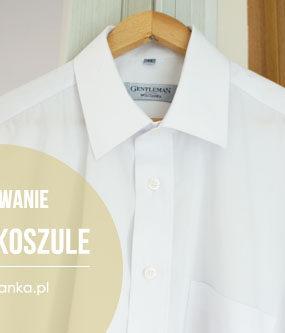 Szkoła prasowania: męska koszula z długim rękawem