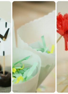 Sylwestrowe dekoracje DIY