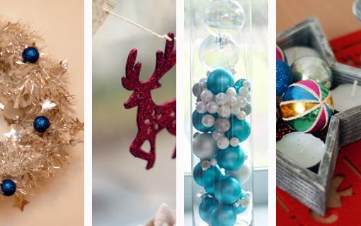 4 DIY świąteczne dekoracje na ostatnią chwilę