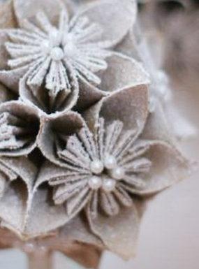 Świąteczne dekoracje: kusudama