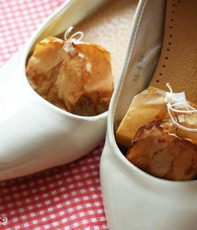 Zapachowe saszetki do butów w 2 minuty