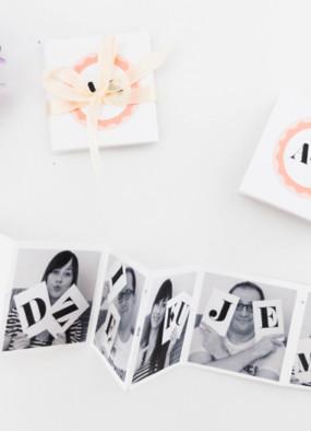 Podziękowania dla gości – zaprojektuj i zrób