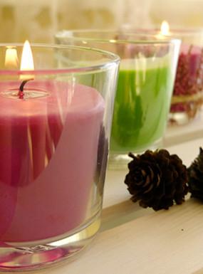 3 pomysły na jesienne świeczniki DIY
