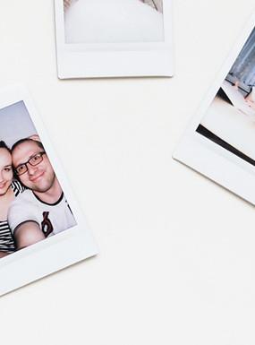 Pomysł na wykorzystanie zdjęć z Fuji Instax Mini