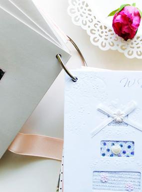 Pomysł na przechowywanie ślubnych kart