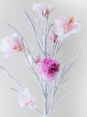 Wiosenny projekt DIY – kwiatowe drzewko