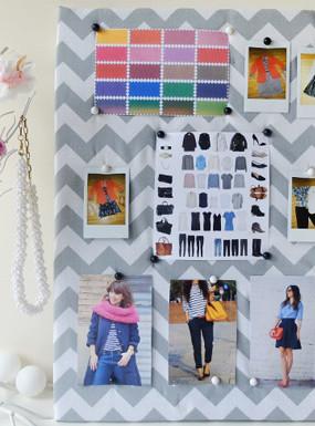 DIY Mood board, czyli inspirująca tablica nastroju + KONKURS