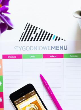 Jak planować posiłki + arkusz do pobrania