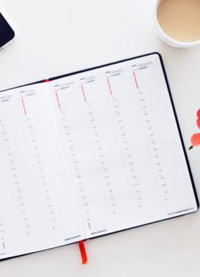 DIY Kalendarz Zorganizowanej Kobiety do druku