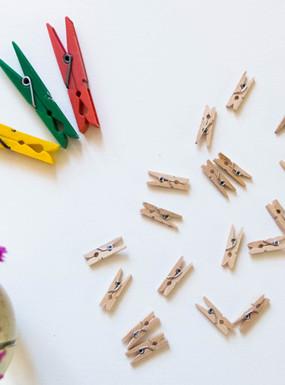 15 pomysłów na wykorzystanie spinaczy do bielizny