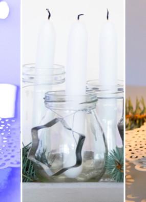 Świecznik adwentowy DIY na 3 sposoby