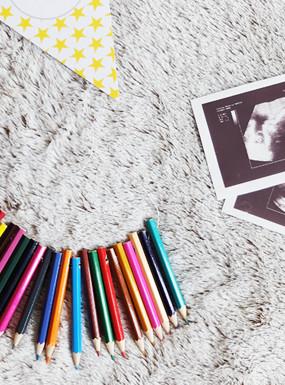 DIY gadżety do sesji ciążowej