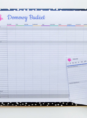 Prosty budżet domowy – planner do wydrukowania