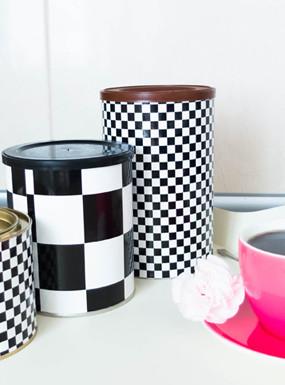 DIY Metamorfoza puszek po kawie