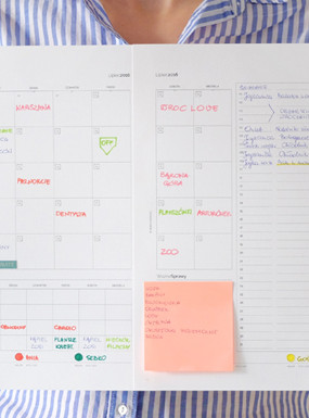 Rodzinny kalendarz na wrzesień 2016 do wydruku