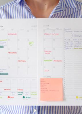 Rodzinny kalendarz na sierpień 2016 do druku