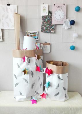 Papierowa torba DIY – wnętrzarski hit, który wykonasz samodzielnie