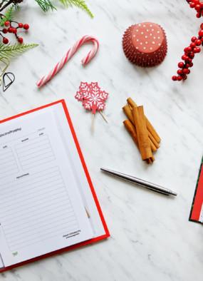 Przygotowania do Świąt Bożego Narodzenia i planer do wydrukowania