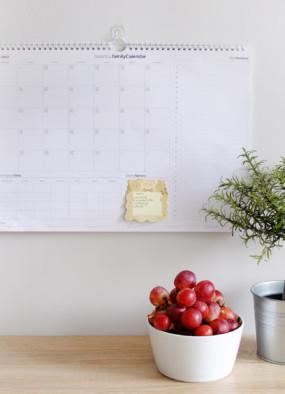 Rodzinny Kalendarz na marzec 2017 do wydrukowania
