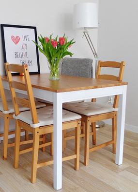 Jak pomalować stół? Metamorfoza mojego stołu