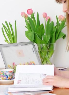 7 rzeczy, które robię na koniec miesiąca + kalendarz rodzinny na maj