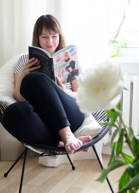 7 rzeczy #21 – nowy fotel, jak być codziennie fit i spotkanie z Czytelniczką
