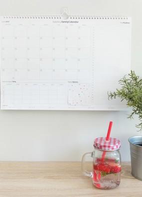 Kalendarz rodzinny na lipiec 2017 do wydrukowania