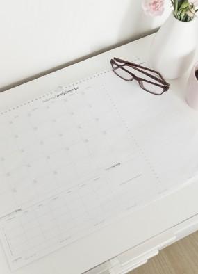 Kalendarz rodzinny na sierpień 2017 do druku