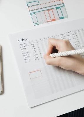 Harmonogram opłat – jak trzymam opłaty w ryzach?