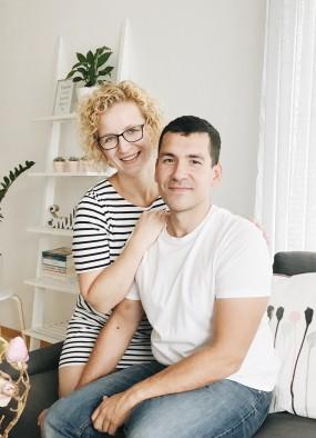 Podział obowiązków w związku. Wywiad z Olgą i Rafałem Pietraszewskimi