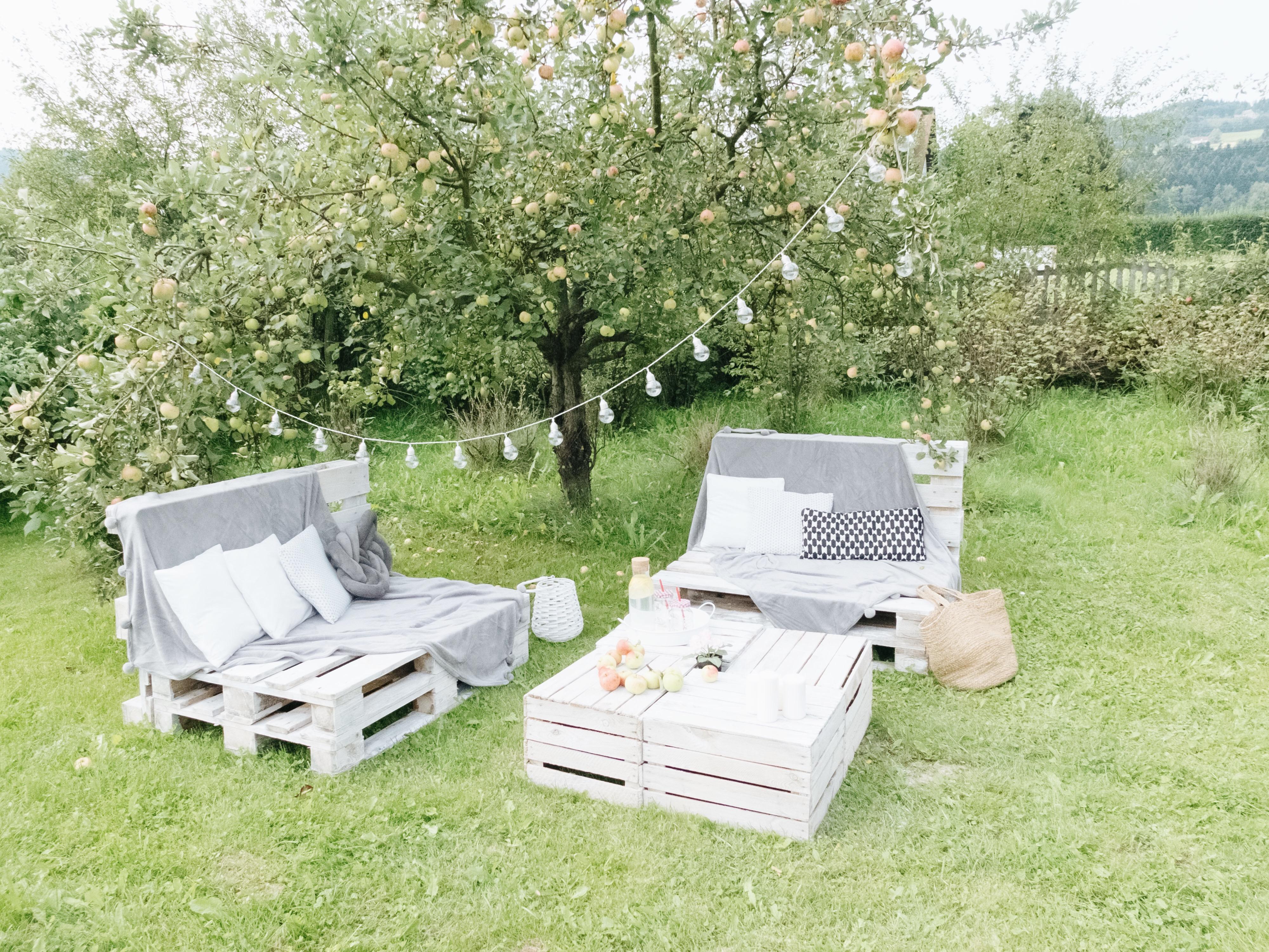 Bardzo dobra Meble ogrodowe z palet - jak zrobić? Instrukcja krok po kroku JY84