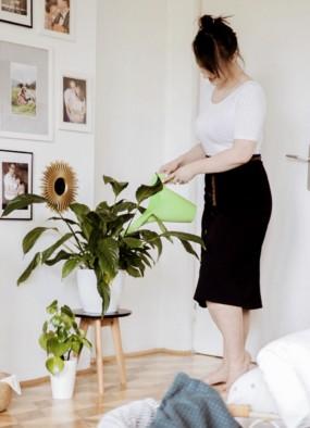 """Jak przestałam zabijać kwiaty? Moja """"dżungla"""" w sypialni"""