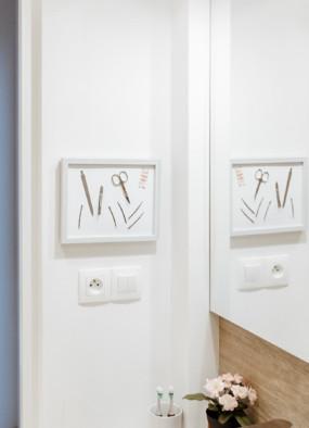 DIY Magnetyczny organizer do łazienki na pilniki, wsuwki, nożyczki