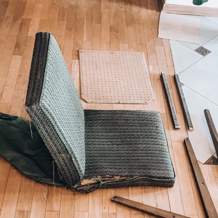 fotel prl jak odnowić
