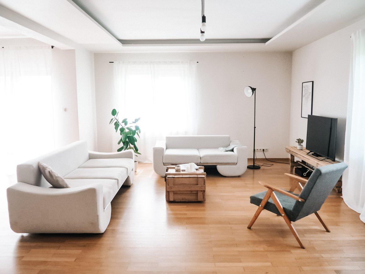 styl japandi salon